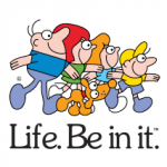 'Life. Be in it' family logo